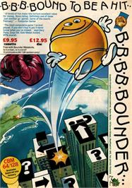 Advert for Bounder on the Sinclair ZX Spectrum.