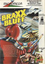Advert for Braxx Bluff on the Sinclair ZX Spectrum.