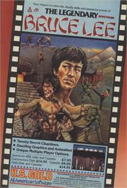 Advert for Bruce Lee on the Sinclair ZX Spectrum.