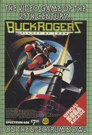 Advert for Buck Rogers: Planet of Zoom on the Sinclair ZX Spectrum.