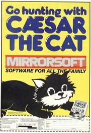 Advert for Caesar the Cat on the Sinclair ZX Spectrum.