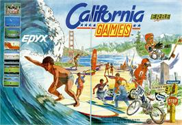 Advert for California Games on the Sinclair ZX Spectrum.