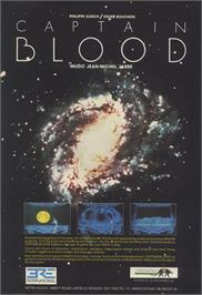 Advert for Captain Blood on the Commodore Amiga.