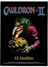 Advert for Cauldron II: The Pumpkin Strikes Back on the Sinclair ZX Spectrum.