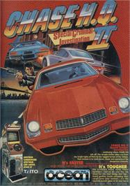 Advert for Chase H.Q. II: Special Criminal Investigation on the Sinclair ZX Spectrum.