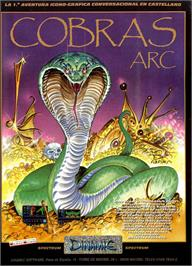 Advert for Cobra's Arc on the MSX.