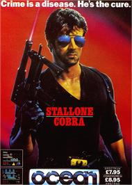 Advert for Cobra on the Sinclair ZX Spectrum.