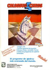 Advert for Colossus 4 Chess on the Commodore 64.