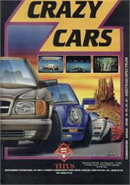Advert for Crazy Cars on the Sinclair ZX Spectrum.