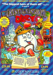 Advert for Crystal Kingdom Dizzy on the Sinclair ZX Spectrum.
