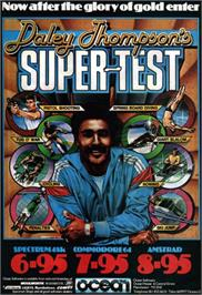 Advert for Daley Thompson's Supertest on the Sinclair ZX Spectrum.