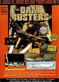 Advert for Dam Busters on the Sinclair ZX Spectrum.