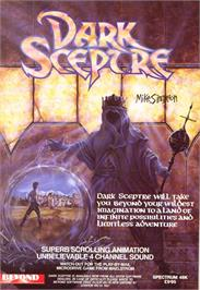 Advert for Dark Sceptre on the Sinclair ZX Spectrum.