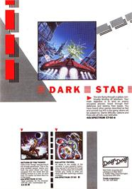 Advert for Dark Star on the Dragon 32-64.
