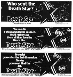 Advert for Death Sword on the Sinclair ZX Spectrum.