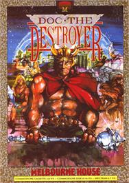 Advert for Doc the Destroyer on the Sinclair ZX Spectrum.