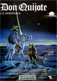 Advert for Don Quijote on the Sinclair ZX Spectrum.