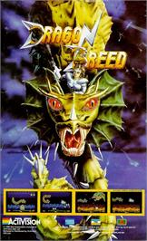 Advert for Dragon Breed on the Sinclair ZX Spectrum.