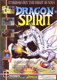 Advert for Dragon Spirit: The New Legend on the Sinclair ZX Spectrum.