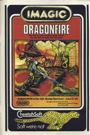 Advert for Dragonfire on the Commodore 64.