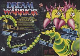 Advert for Dream Warrior on the Sinclair ZX Spectrum.