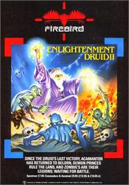 Advert for Druid II: Enlightenment on the Sinclair ZX Spectrum.