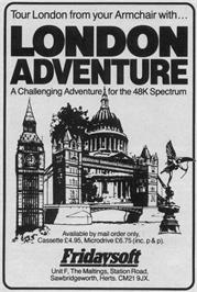 Advert for Dungeon Adventure on the Sinclair ZX Spectrum.
