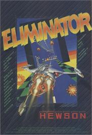 Advert for Eliminator on the Sinclair ZX Spectrum.