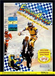 Advert for Enduro Racer on the Sinclair ZX Spectrum.