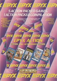 Advert for Epyx Action on the Sinclair ZX Spectrum.