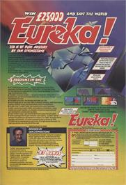 Advert for Eureka! on the Sinclair ZX Spectrum.