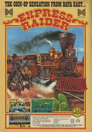 Advert for Express Raider on the Sinclair ZX Spectrum.