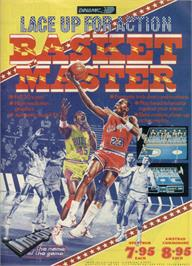 Advert for Fernando Martín Basket Master on the Sinclair ZX Spectrum.