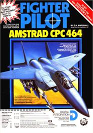 Advert for Fighter Pilot on the Sinclair ZX Spectrum.