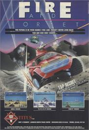 Advert for Fire and Forget on the Amstrad CPC.