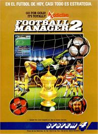 Advert for Football Manager 2 on the Sinclair ZX Spectrum.