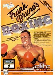Advert for Frank Bruno's Boxing on the Commodore 64.