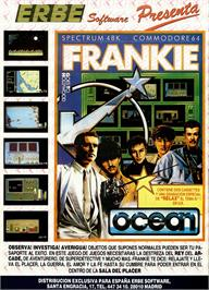 Advert for Frankie Goes to Hollywood on the Sinclair ZX Spectrum.