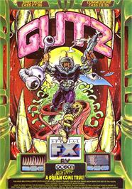 Advert for G.U.T.Z. on the Sinclair ZX Spectrum.