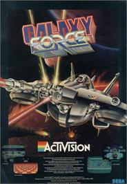 Advert for Galaxy Force II on the Valve Steam.