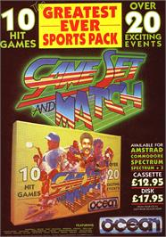 Advert for Game Set & Match on the Sinclair ZX Spectrum.