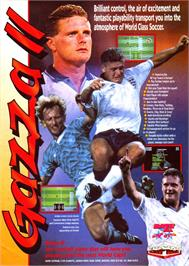 Advert for Gazza II on the Sinclair ZX Spectrum.