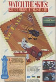 Advert for Gee Bee Air Rally on the Commodore 64.