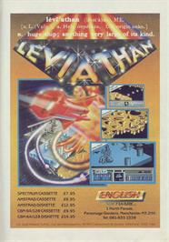 Advert for Genghis Khan on the MSX 2.