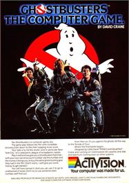 Advert for Ghostbusters on the Sinclair ZX Spectrum.