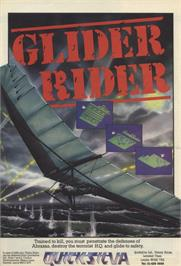 Advert for Glider Rider on the Sinclair ZX Spectrum.