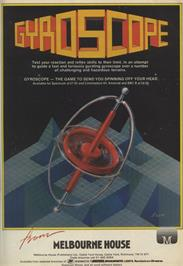 Advert for Gyroscope on the Sinclair ZX Spectrum.