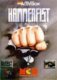 Advert for Hammerfist on the Sinclair ZX Spectrum.