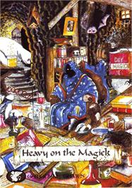 Advert for Heavy on the Magick on the Amstrad CPC.