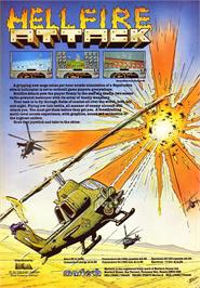 Advert for Hellfire Attack on the Sinclair ZX Spectrum.